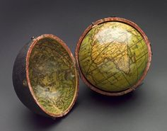 The French Tangerine: ~ antique globes