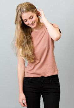 organic cotton t for $15