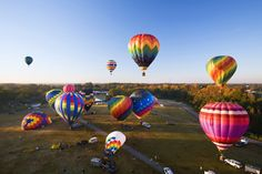Balloons Over Anderson Anderson, SC. Photo by Perry Baker, courtesy of SC PRT.