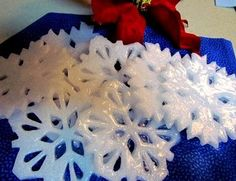 easy to make snowflake soaps for gifts