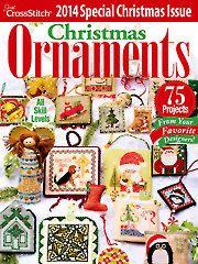 Just CrossStitch Christmas Ornaments 2014