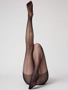 American Apparel - Sheer Luxe Back Seam Pantyhose