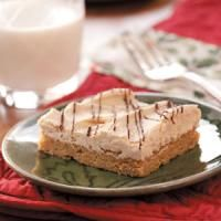 Top 10 Peanut Butter Dessert Recipes from Taste of Home, including Frosted Peanut Butter Bars