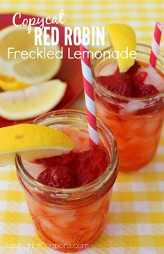 Copycat Red Robin Freckled Lemonade