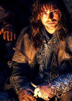 Aiden Turner as Kili in The Hobbit