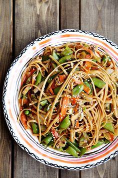 delici food, snap pea, pasta recipes, sugar snap, noodl