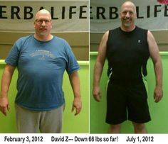 Herbalife: Herbalife Results: Dave Z Gotta love the results!