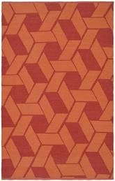 Orange area rugs - j
