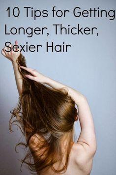 longer hair, healthier hair, ultim beauti, beauti guid, sexier hair