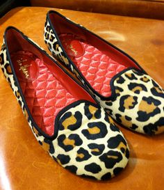 leopard loafer style