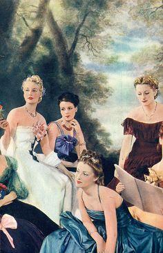the 1930s- fashion designers' Christmas dresses