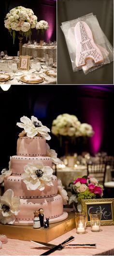 pink paris wedding