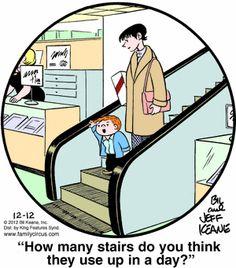 Family Circus Cartoon for Dec/12/2012