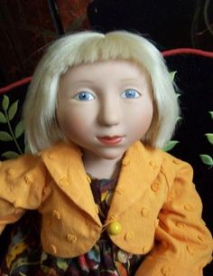 Doll Census Cloudland Lulie by Alice Sylvia, via Flickr   jacket