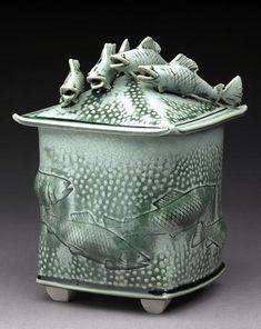 Barbara Knutson - fish great idea for a handle!