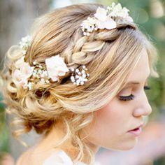8 fab step-by-step tutorials for updos with braids en vogue, bride hairstyles braid, brides hairstyles updo, bridal hairstyles, updo hairstyles with flowers, braided hairstyles, updo with braid, wedding hairstyles, updo braid