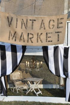 Vintage Market at Counting Your Blessings market stall