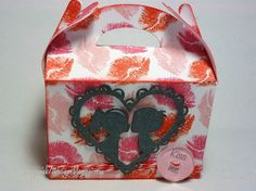 Valentine's Day Box made with Jaded Blossom Stamps