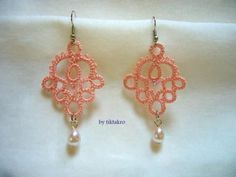 tatted earrings