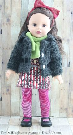 Doll of the Week-Madame Alexander Mixed Prints