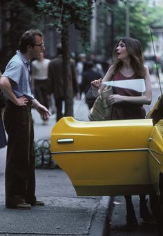 Woody Allen and Diane Keaton in 'Annie Hall', 1977.