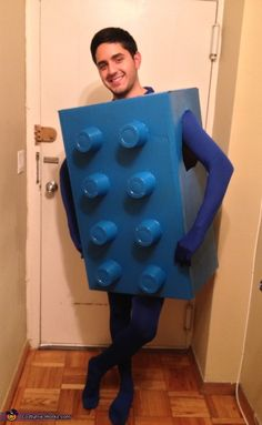Blue Lego - 2012 Halloween Costume Contest