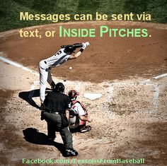 Baseball quote - Check out our website for expert advice, tips, downloads and more about baseball and other subjects at: http://lessonsfromexperts.com (Baseball's website coming soon, but you can also check out baseball and other sport stories at http://lessonsfromsports.com). Visit us on Facebook: http://Facebook.com/LessonsFrombaseball; and Twitter: @LessonsBaseball