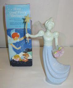 Vintage Avon Good Fairy Decanter
