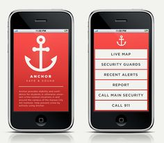 Security app for college campuses.  Smart.