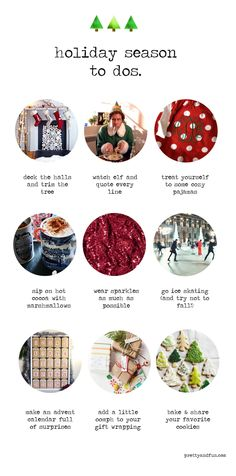 it's the most wonderful time of the year // holiday to do list.
