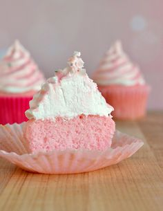 Cook for the Cure Pink Hi Hat Cupcakes via Food Family Finds easi pink, cupcake recipes, bake, food, cupcak recip, cure pink, pink cupcakes, hi hat cupcakes, dessert