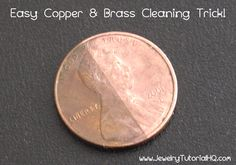 Copper and brass fixtures starting to show there age? Here is a way to get them looking brand spanking new again.