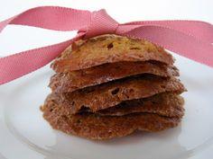 Honey Oat Lace Cookies - gluten-free