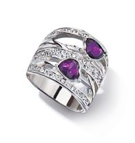 Sparkling Statement Coiled Ring- Silvertone with faux stones and rhinestones. Regularly $12.99, buy Avon Jewelry online at http://eseagren.avonrepresentative.com