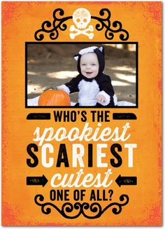 Hauntingly Cute - Halloween Cards from Treat.com #trickorTREAT