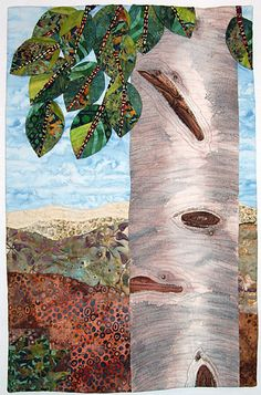 """""""Colorado Summer"""" quilt by Patricia Andrews at Cover to Cover quilters.  Inspired by the book, Prayers for Sale"""