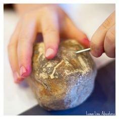 Rocks and minerals Scratch Test | 2 Simple Investigations to test rock hardness. Great for multiple ages this summer!