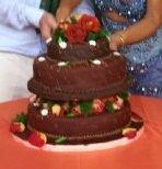 para aniversario, torta para