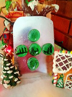 christmas crafts, refrigerator magnets, nativ magnet, diy crafts, magnet craft, creativ christma, craft ideas, nativity, christmas gifts