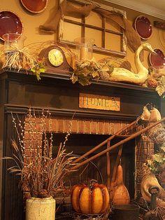 Primitive Autumn Decorating...