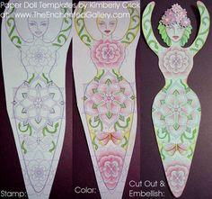 pagan craft, paper dolls, diy crafts, templat, paper punch, goddess doll, witchi craft, art dolls, printabl
