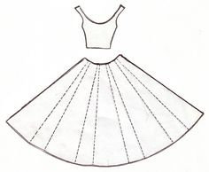 dress template for the card