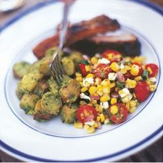Fire-Roasted Corn Salad