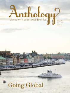 Anthology Magazine Issue No. 5, Going Global. Cover photograph by Jenny Hallengren.