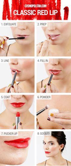 Lips Makeup #beautytips #beauty #makeup #makeuptips #bridalmakeup #eyetips #eyemakeup