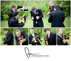 Wedding Photography - Nerf Guns