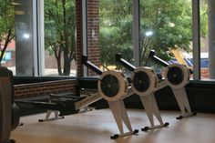 1st floor cardio room- rowing machines