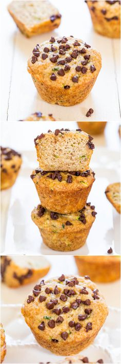 chip muffin, chocolate chips, muffin tins, clean desserts, chocol chip