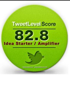 Tweetlevel influence type of @greensboro_nc Idea Starter / Amplifier