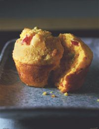 Our Holiday Pepper-Cheddar Muffins are something different